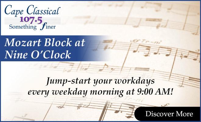 Mozart Block at Nine O'Clock
